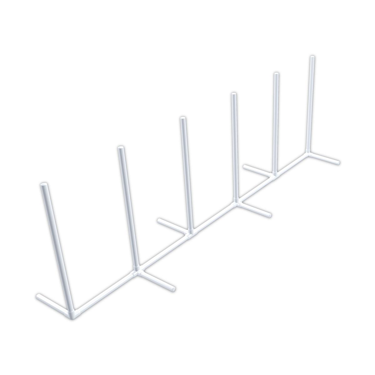 pvc dog agility weaver poles