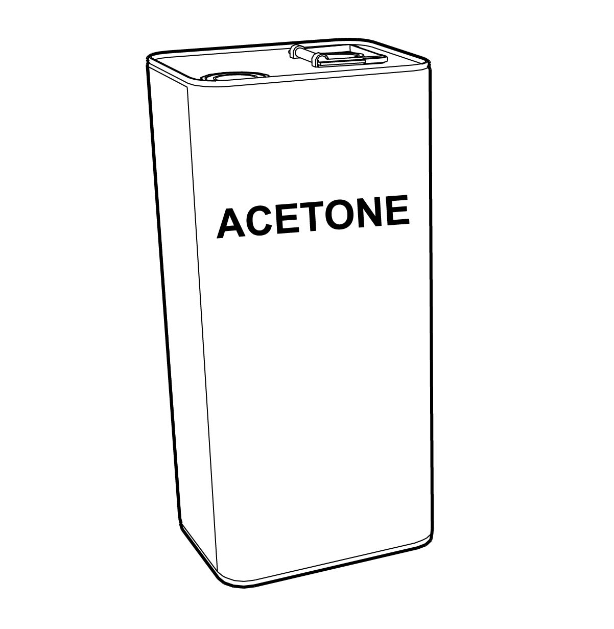 pvc acetone cleaning