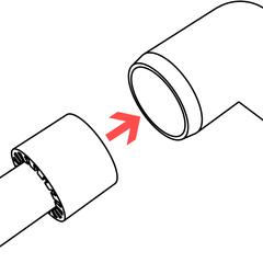 Insert Adapter into PVC Fitting