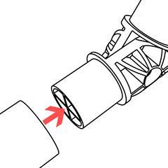 Adjustable PVC Elbow Insert 1