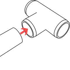 PVC Tee Use