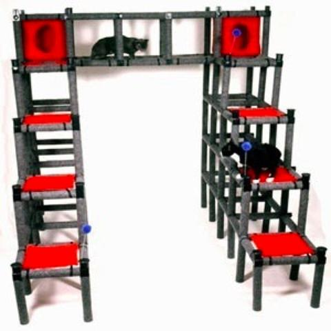 pvc cat playhouse - Pvc Pipe Projects