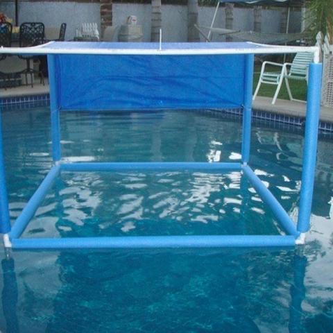 PVC Pool Canopy