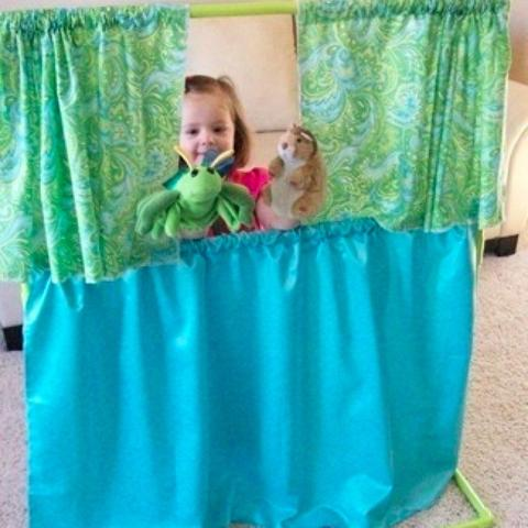 PVC Puppet Theater