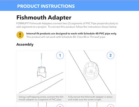 Fishmouth Instructions