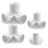 3-Way PVC Sizes