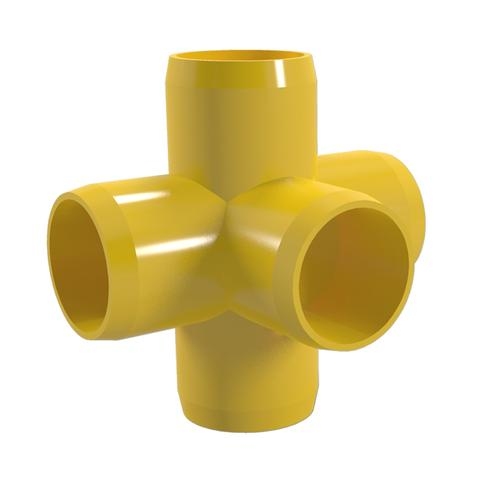 5-Way PVC Cross Front