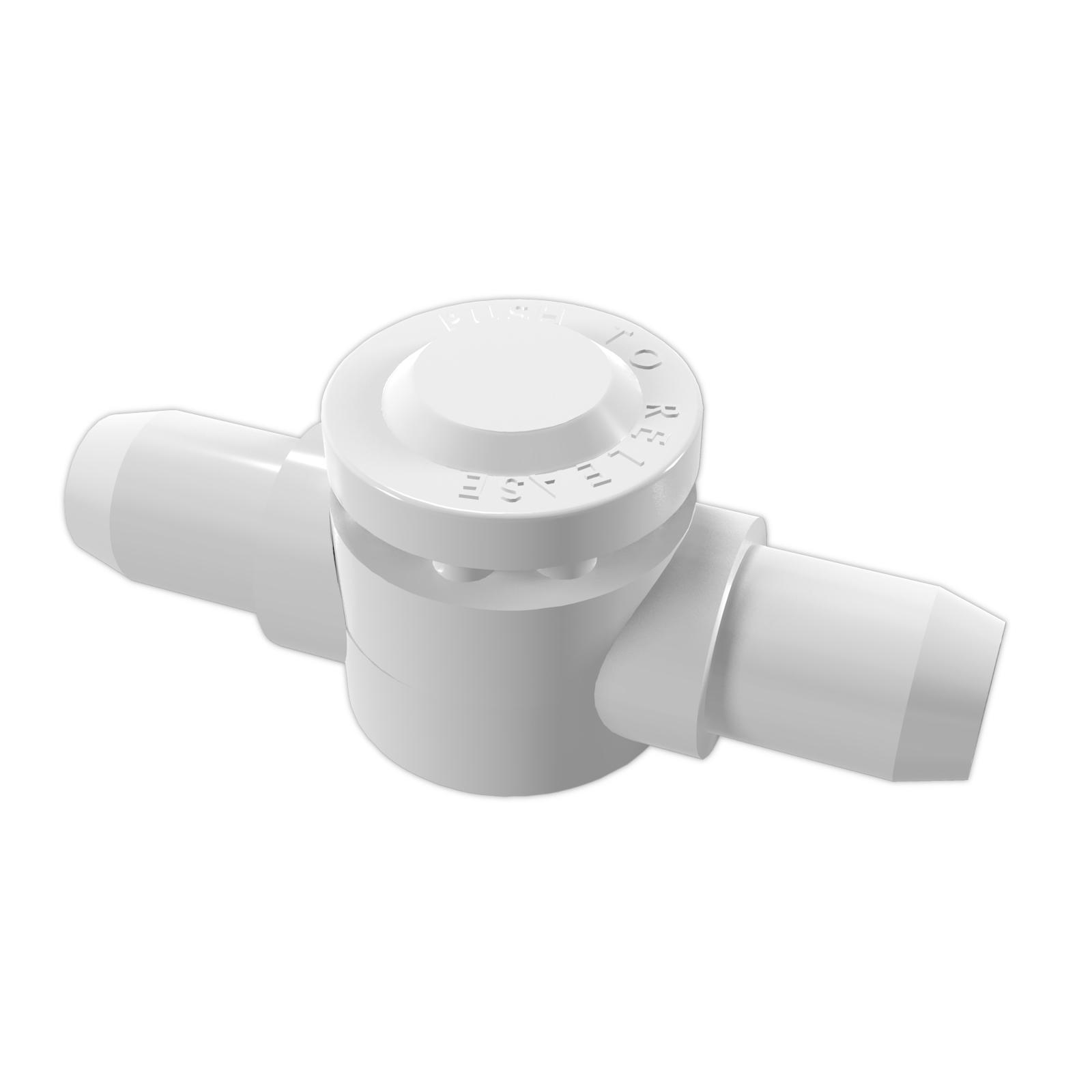 Internal 2-Way Adjustable Elbow - White