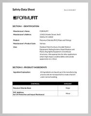 FORMUFIT Safety Data Sheet