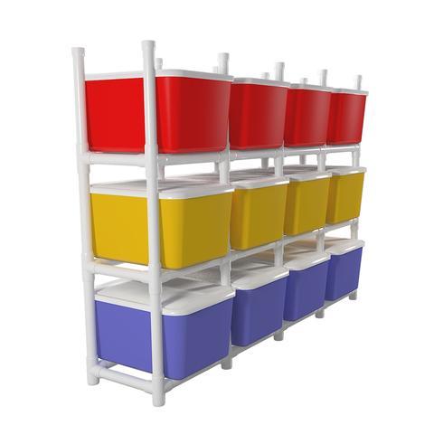 PVC Storage Bin Organizer